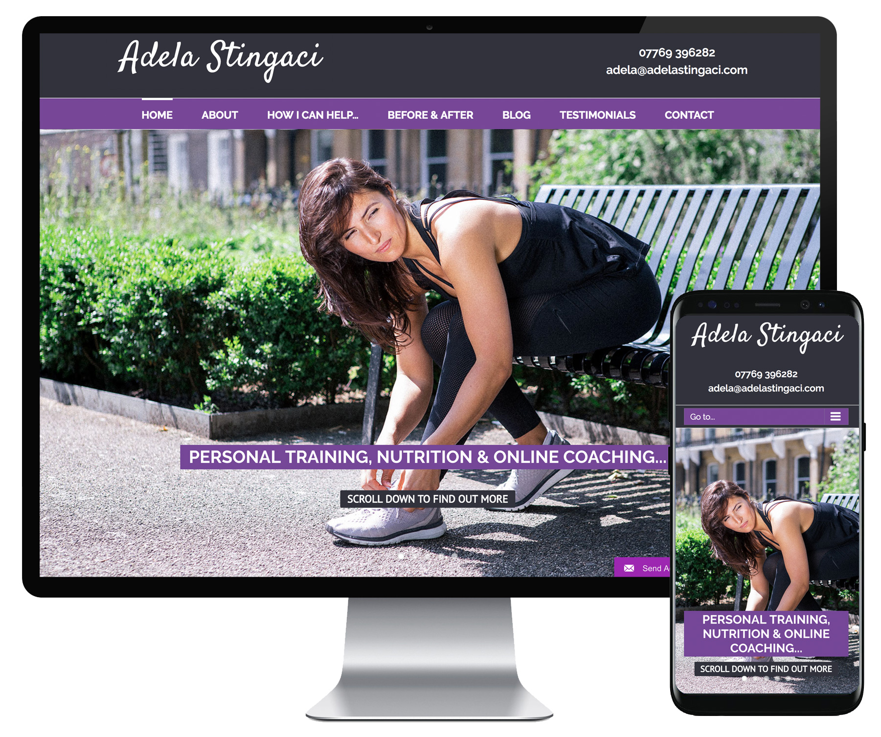 Adela Stingaci website