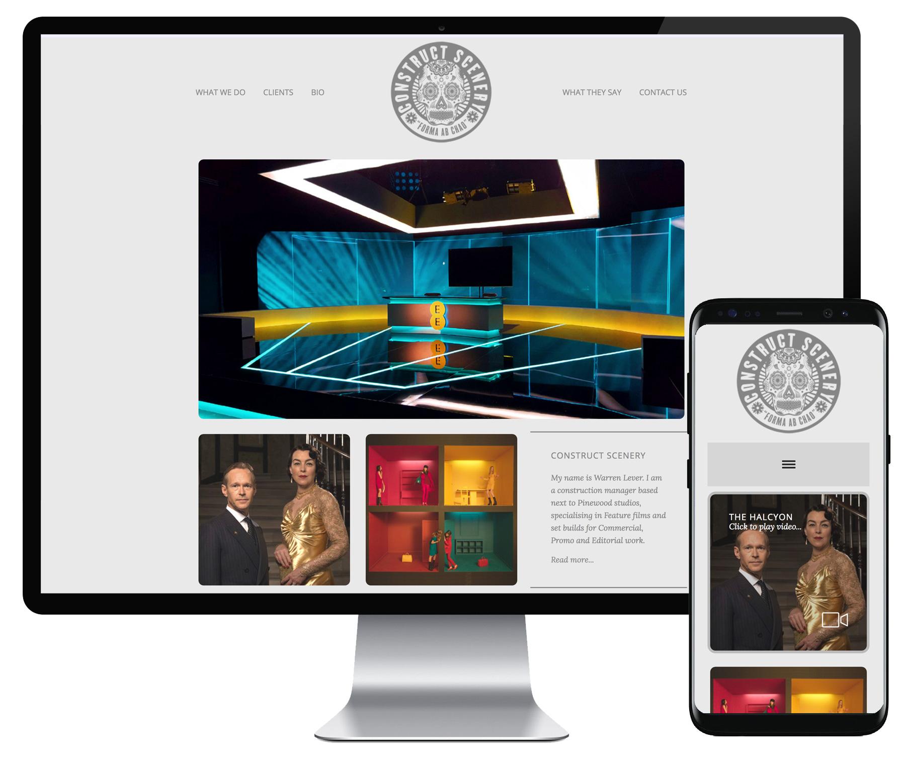 Construct Scenery website