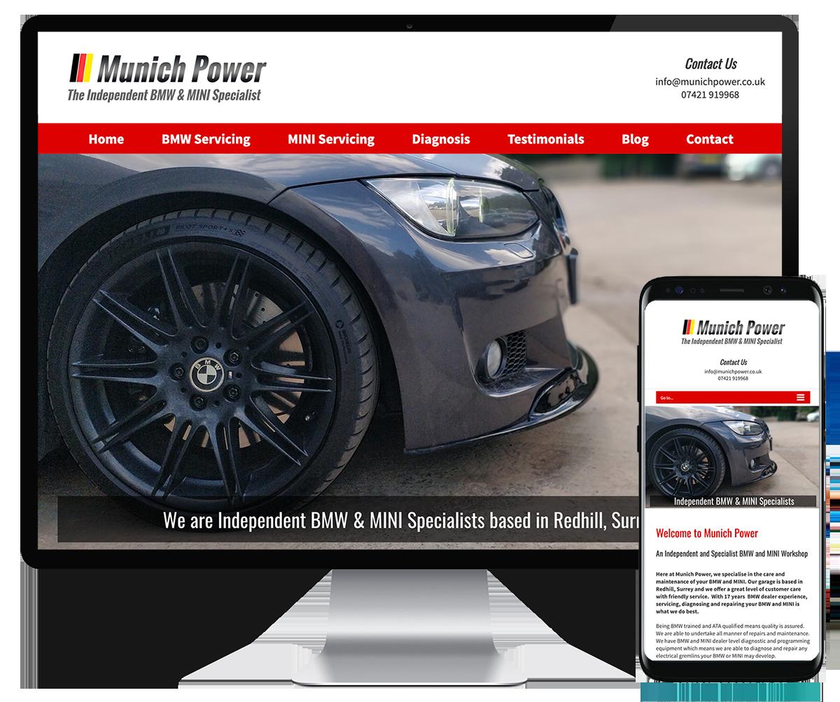 Munich Power website
