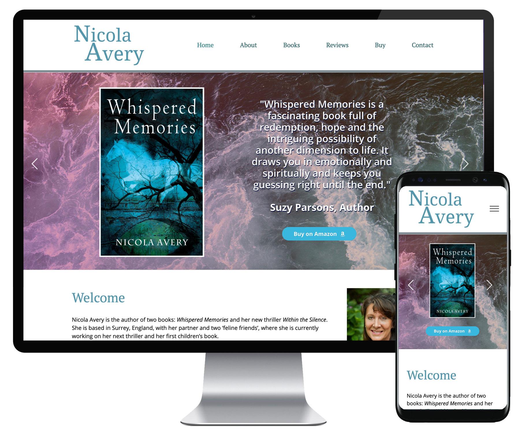 Nicola Avery website