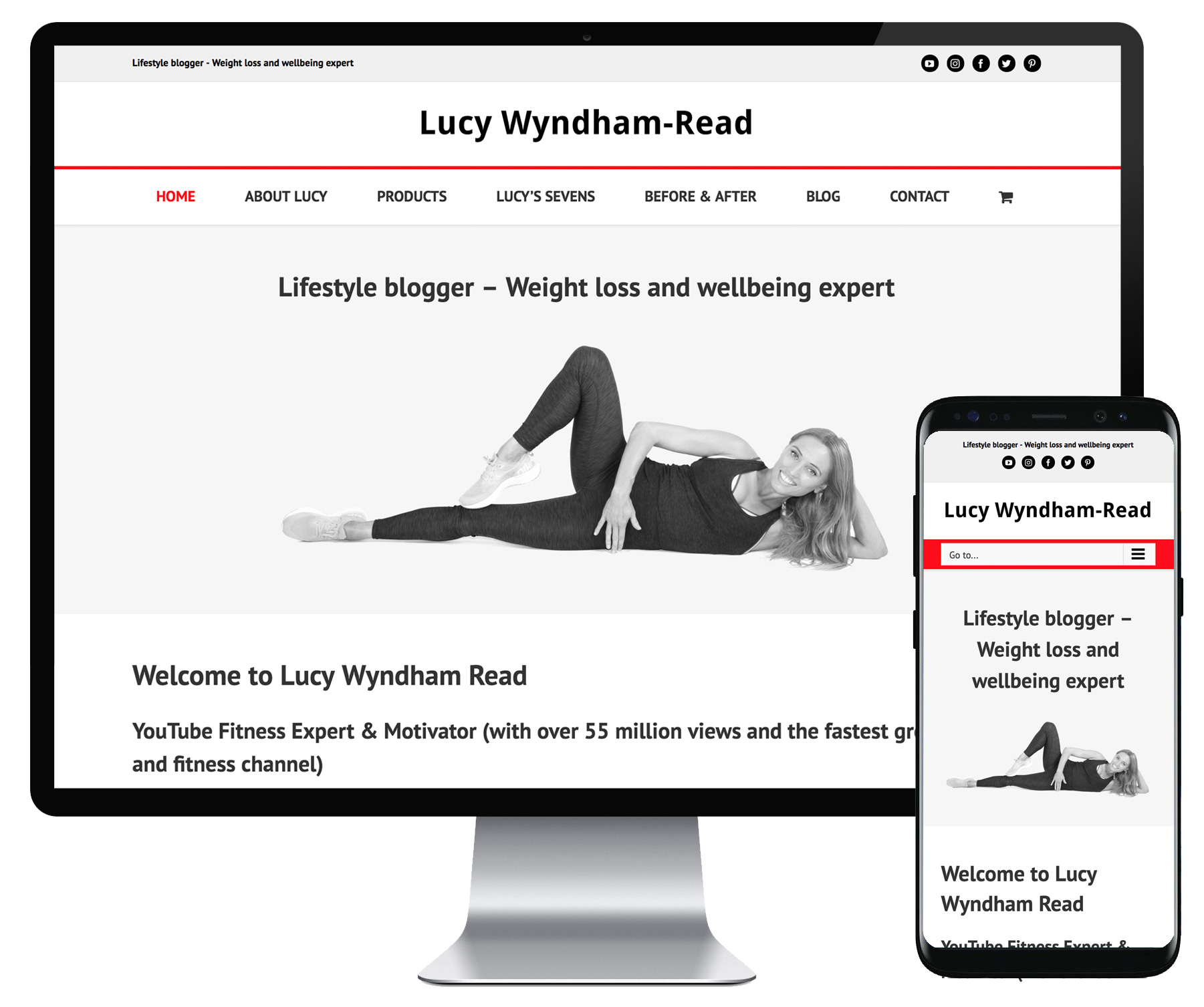 LWR Fitness website