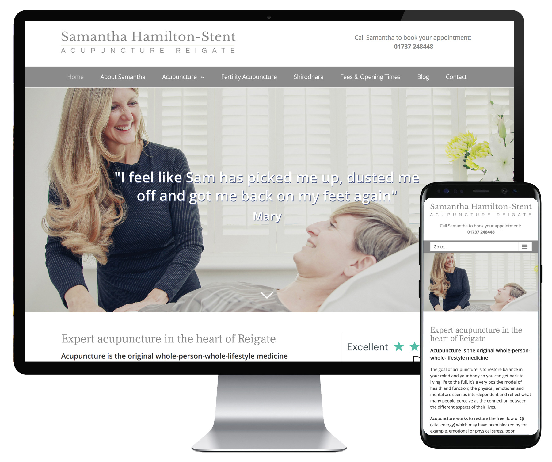 Samantha Hamilton-Stent website